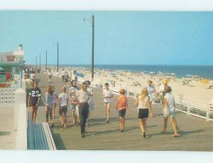 Pre-1980 BEACH SCENE Rehoboth Beach Delaware DE AE9347
