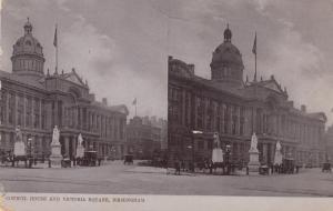 Stereoscope Postcard ; Victoria Square , BIRMINGHAM , England , 00-10s ; TUCK...