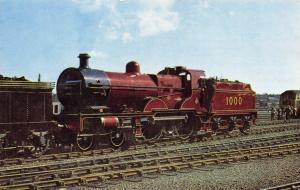 Postcard Midland Railway Compound Class 4-4-0 No.1000 by J. Salmon Ltd #M