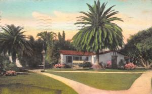 Cottages, The Biltmore,  Montecito, Santa Barbara, CA, Early Postcard, used