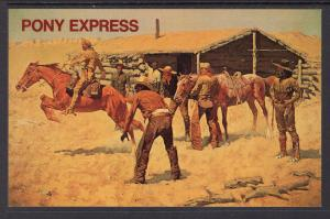Pony Express,Frederic Remington