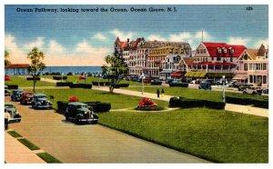 New Jersey  Ocean Grove Ocean Pathway looking toward the Ocean