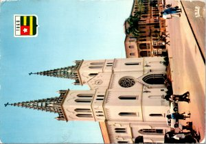 Lome Togo Postcard used 1972 Cathedral