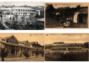 BELGIAN CONGO AFRICA 52 CPA AFRIQUE Vintage Postcards pre-1940 PART I.