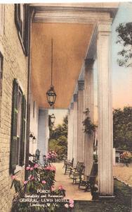D96/ Lewisburg West Virginia WV 10 Postcards Set General Lewis Hotel Albertype