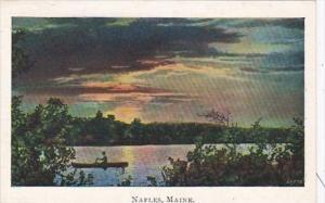Maine Naples Lake Scene