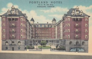PORTLAND , Oregon , 1930-40s ; Portland Hotel