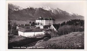 Austria Innsbruck Schloss Ambras mit Bettelwurf Real Photo