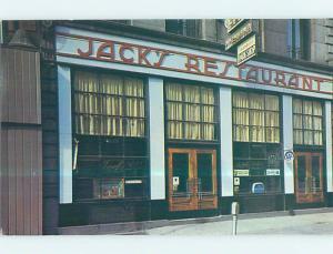 Unused Pre-1980 JACK'S OYSTER HOUSE RESTAURANT Albany New York NY p6528