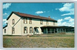Medora ND- North Dakota, Chateau de Mores, Historical Museum, Chrome Postcard