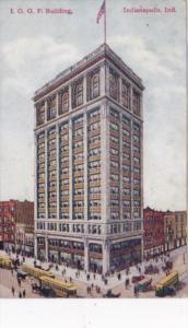 Indiana Indianapolis I O O F Building 1909