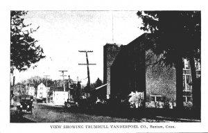 Connecticut Bantam Street View Showing Trumbull Vanderpoel Company