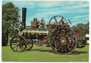 Wallis & Steevens Traction Engine PPC, by Dennis, Unused, Collectors Series No 5