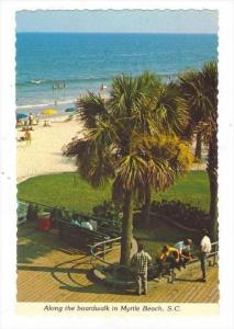 Myrtle Beach , South Carolina, 50-60s   Boardwalk view