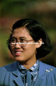 siam thailand, Princess Maha Chakri Sirindhorn (1970s) Postcard