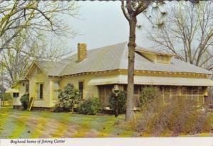 Georgia Plains Boyhood Home Of Jimmy Carter