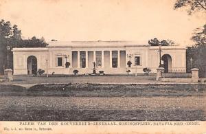 Batavia Indonesia, Republik Indonesia Paleis Van Den Gouverneur Generaal Koni...