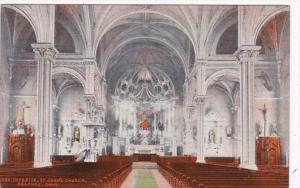 Ohio Delphos St John's Church Interior