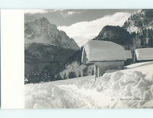 old rppc NEVICATA ABBONDANTE country of Italy HM1994