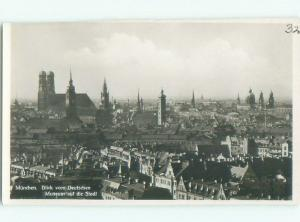 old rppc NICE VIEW Munich - Munchen - Bavaria Germany i1735