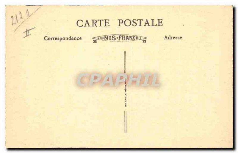 Old Postcard Jura Baume les Messieurs La Vallee Village