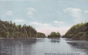 Conn River Above Alcott, Chase Island, Vermont, 1900-1910s