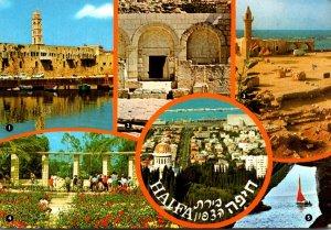 Israel Haifa Showing Acre Beit Shearim Caesairea Zichron Yaaqov and Rosh Hanikra