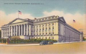 United States Treasury Department Washington D C