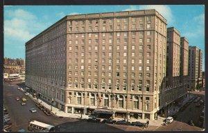 Massachussetts ~ The Statler Hilton Hotel BOSTON - Chrome 1950s-1970s