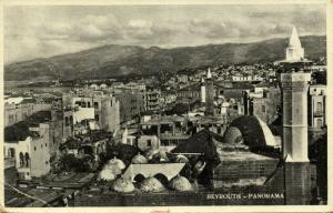 lebanon, BEIRUT BEYROUTH, Panorama (1939)