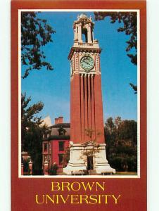 Vintage Post Card Greetings from Brown University Providence Student  RI # 4104