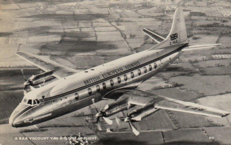 RP: B.E.A. Viscount airplane , 50-60s