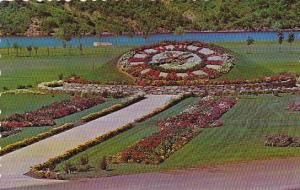 Canada Floral Clock New Brunswick Electric Power Commission Beechwood