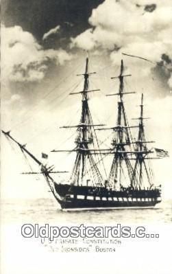 US Frigate Constitution Old Ironsides, Boston, Massachusetts, MA USA Sailboat...