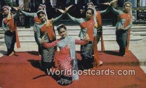 nail Dance of Chiengmai Northern Thailand Thailand Postal Used Unknown