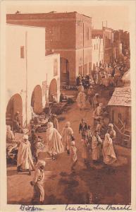 Algeria Biskra Un coin du Marche