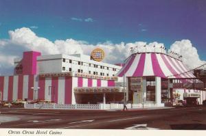 LAS VEGAS , Nevada , 60-80s ; Circus Circus Hotel Casino