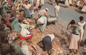 Jamaica , 50-60s ; Market Scene