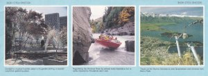 Shotover River Jetboat Thrill Ride Queenstown Gondola New Zealand Aerogramme