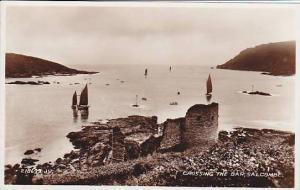 RP, Sailboats, Crossing The Bar, Salcombe (Devon), England, UK, 1920-1940s