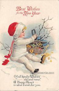 New Year, Ellen H Clapsaddle 1916
