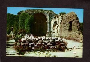 CA Mission San Juan Capistrano California Stone Church Spanish Postcard