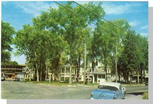 Whitefield, New Hampshire/NH Postcard, Street/Car, 1950's?
