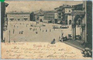 73361  - CARTOLINA d'Epoca: LIVORNO Città -  Piazza  VITTORIO EMANUELE