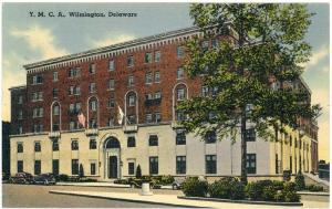 Wilmington, Delaware, View of The Y. M. C. A., 1941