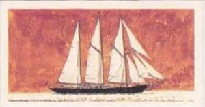 Brooke Bond Vintage Trade Card Saga Of Ships 1970 No 48 Sir Winston Churchill