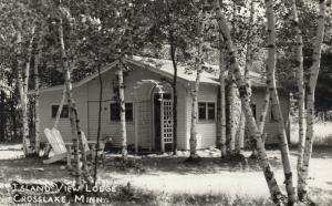 RP: CROSS LAKE , Minnesota, 1930-40s ; Island View Lodge