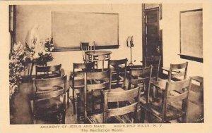 New York Highland Mills Recitation Room Academy Of Jesus & Mary Albertype