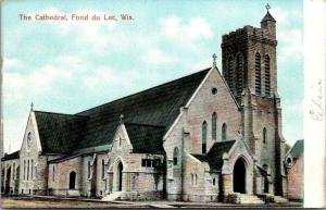 Fond du Lac Wisconsin~Roman Catholic Cathedral of St Paul~c1910 Postcard