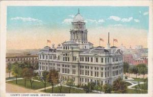 Colorado Denver County Court House